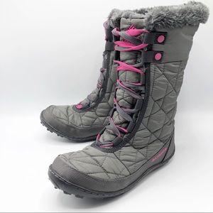 Columbia Youth Minx Mid II waterproof snow boots
